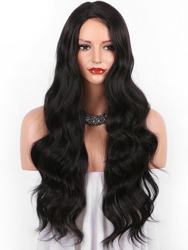 Fashion Long Side Parting Body Wave Synthetic Wig