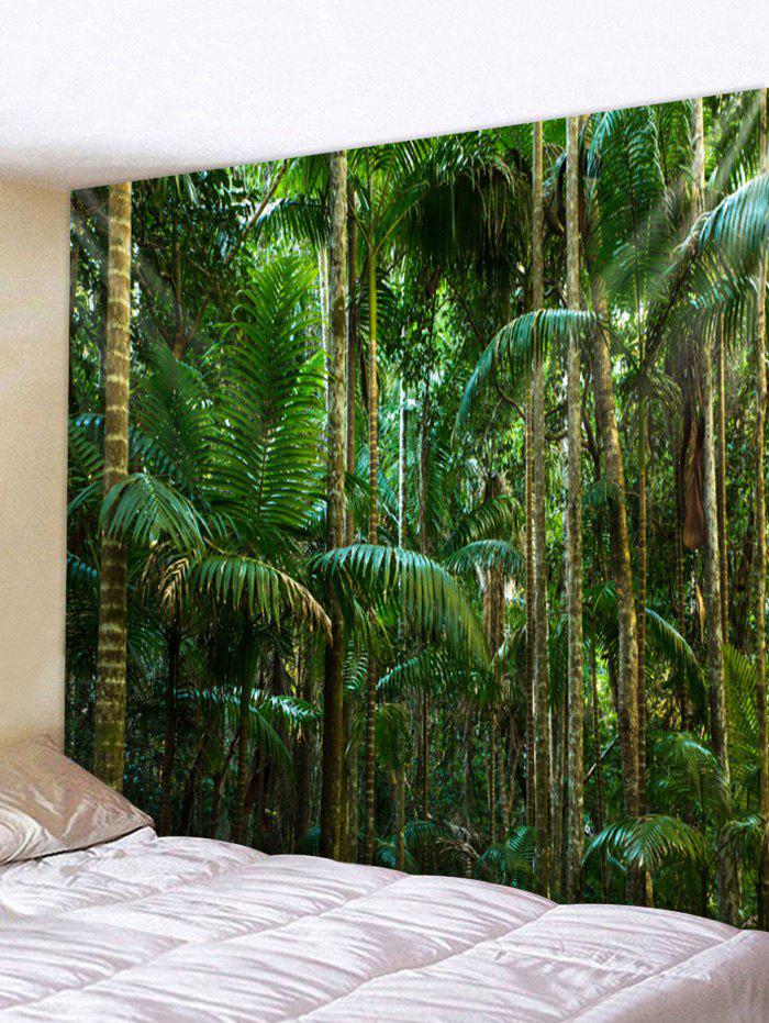 Latest Wall Hanging Art Tropical Forest Print Tapestry