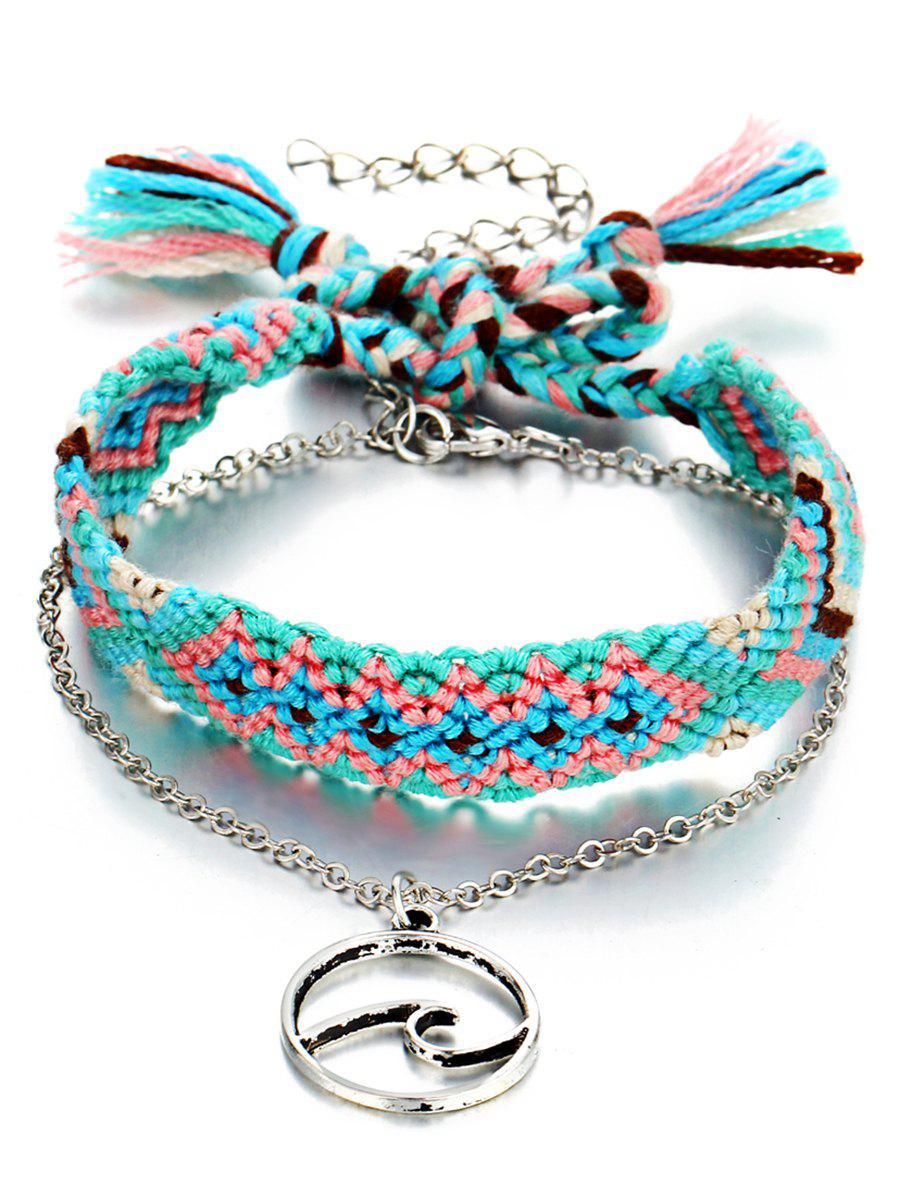 Outfits Bohemian Knitted Ankle Bracelet