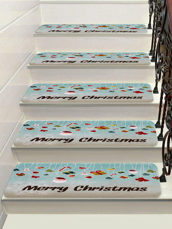 Cheap Merry Christmas Theme Printed Stair Floor Rugs