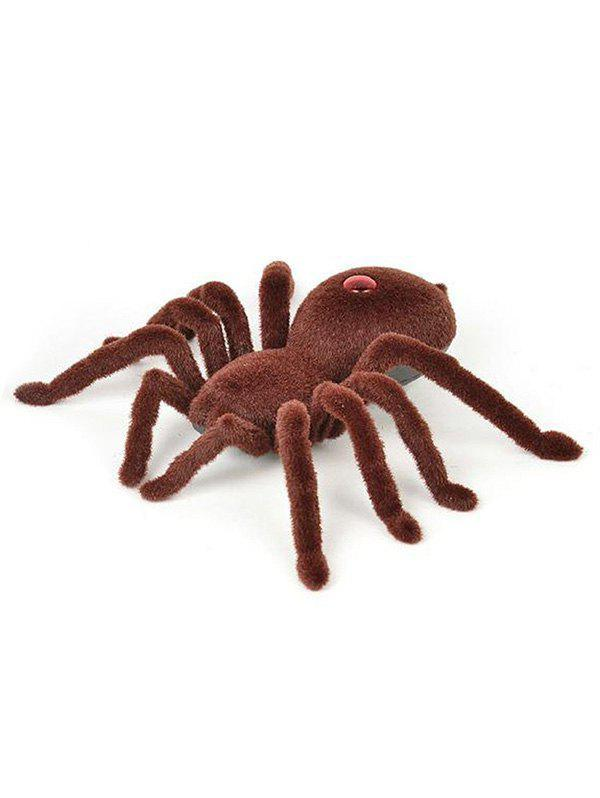 Chic Halloween Infrared Remote Control Realistic Spider Toy