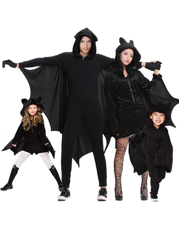 Trendy Halloween Parent Child Bat Costume Set