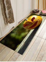 Halloween Pumpkin Printed Antiskid Area Mat -