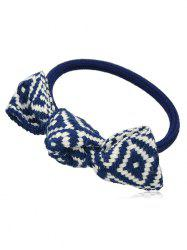 Knitted Bowknot Elastic Hair Band -