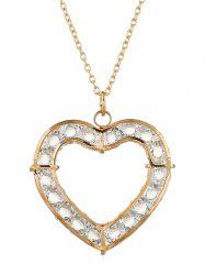 Romantic Heart Hollow Out Necklace -