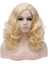 Long Side Parting Curly Synthetic Cosplay Wig -