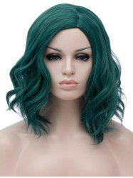 Medium Side Parting Wavy Party Synthetic Wig -