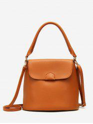 Bucket Solid Color Going Out Handbag -