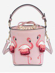 Mini Sac à Main Motif Flamant Rose -