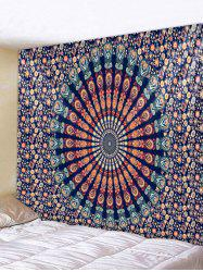 Wall Hanging Art Mandala Flower Print Tapestry -