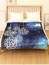 Merry Christmas Gift Printed Flannel Soft Blanket -