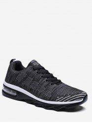 Mesh Breathable Lace Up Casual Sneakers -