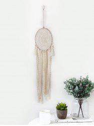 Handmade Lace Fringed Dream Catcher Wall Hanging -