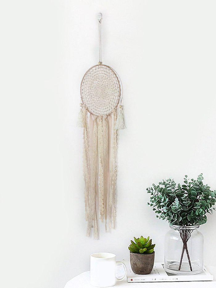 Fashion Handmade Lace Fringed Dream Catcher Wall Hanging
