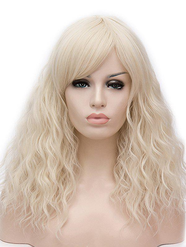 Outfit Long Side Bang Natural Wavy Cosplay Synthetic Wig