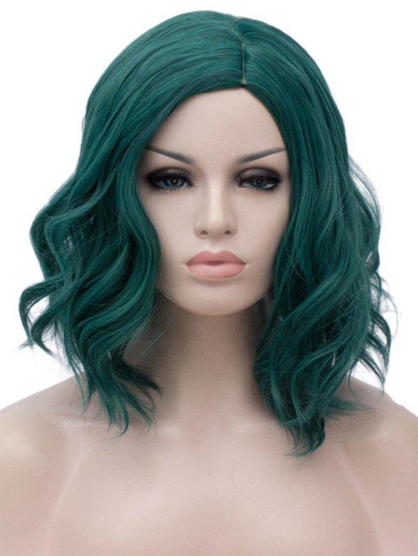 Discount Medium Side Parting Wavy Party Synthetic Wig