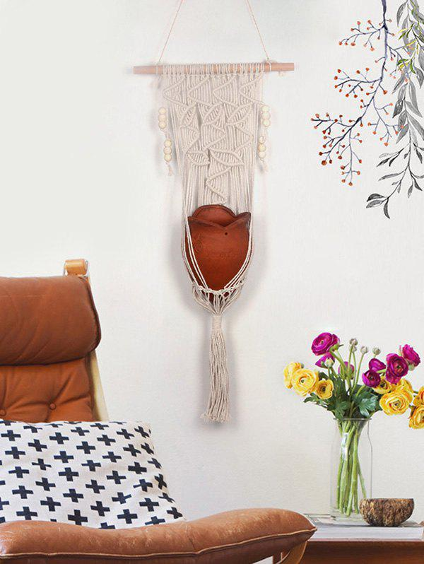 Fancy Handmade Macrame Plant Hanging Basket
