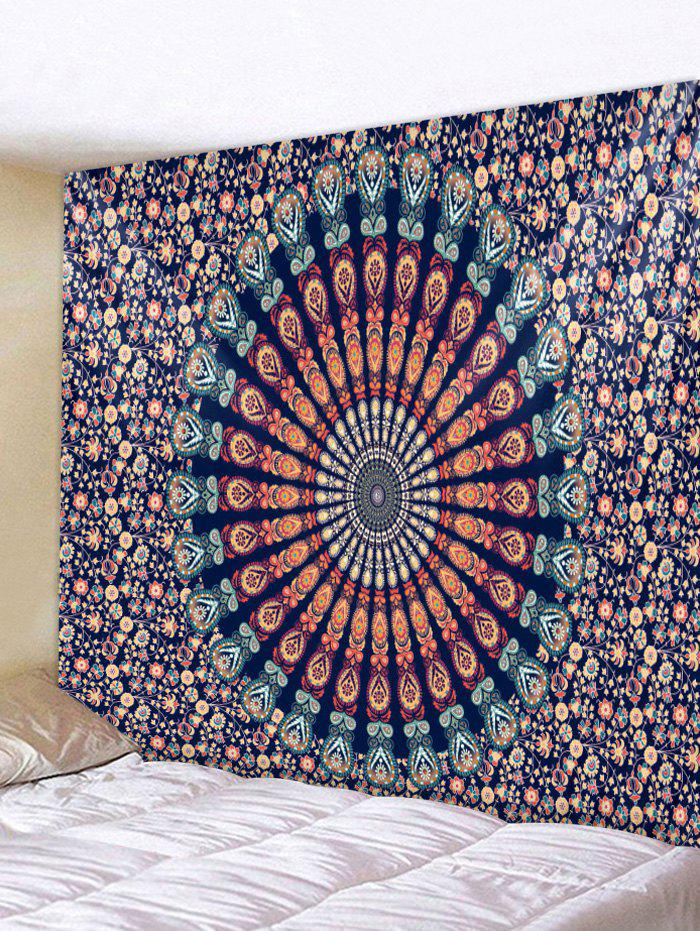 Chic Wall Hanging Art Mandala Flower Print Tapestry