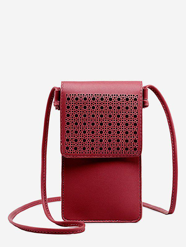 Best PU Leather Hollow Out Crossbody Bag