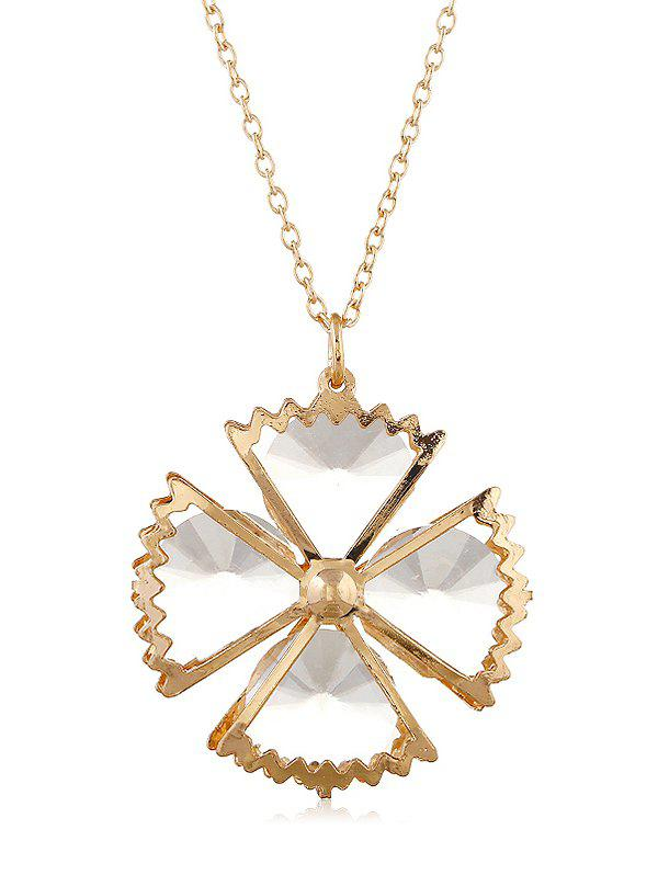Shop Alloy Floral Elegant Necklace