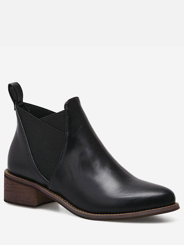 Shops Pointed Toe Short Chelsea Boots