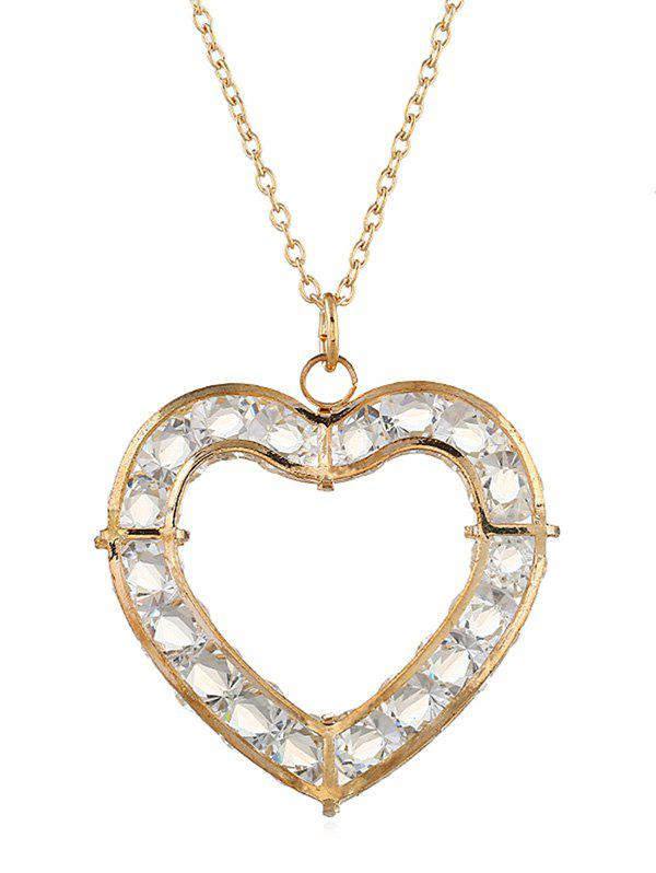 Best Romantic Heart Hollow Out Necklace