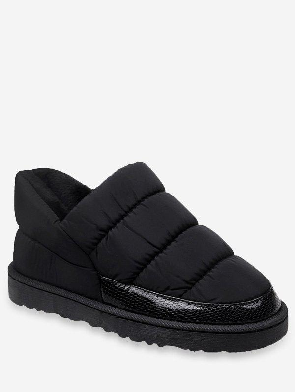 Cheap Warm Slip On Platform Snow Boots