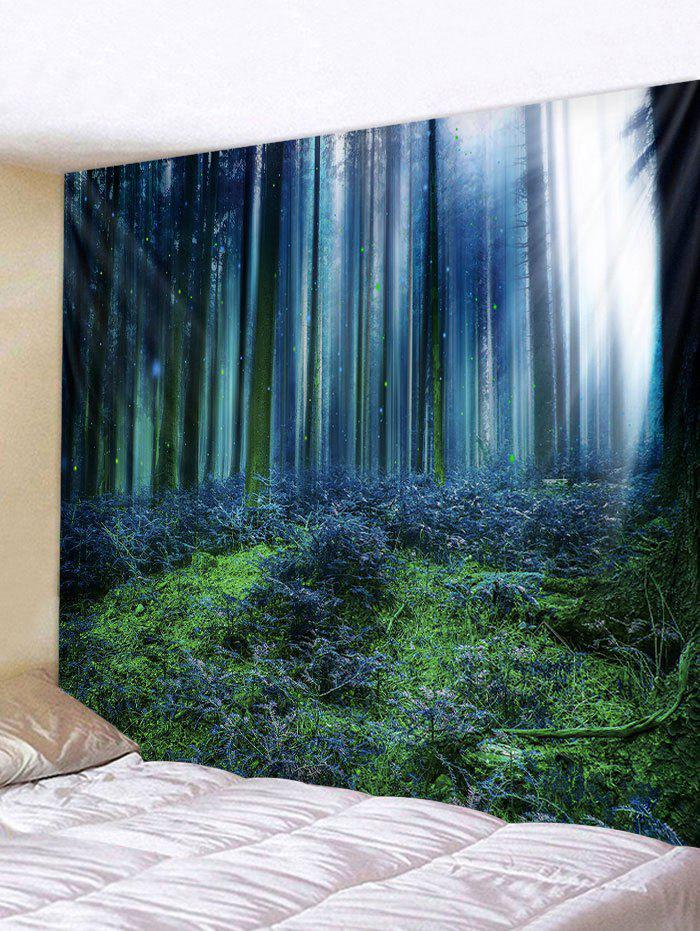Outfit Wall Hanging Art Forest Sunshine Pattern Tapestry