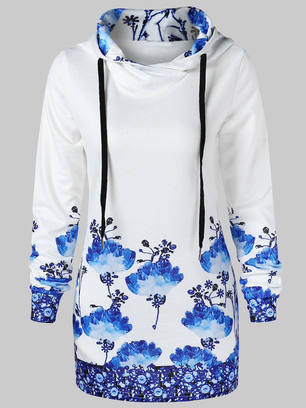Online Chinese Painting Pullover Hoodie
