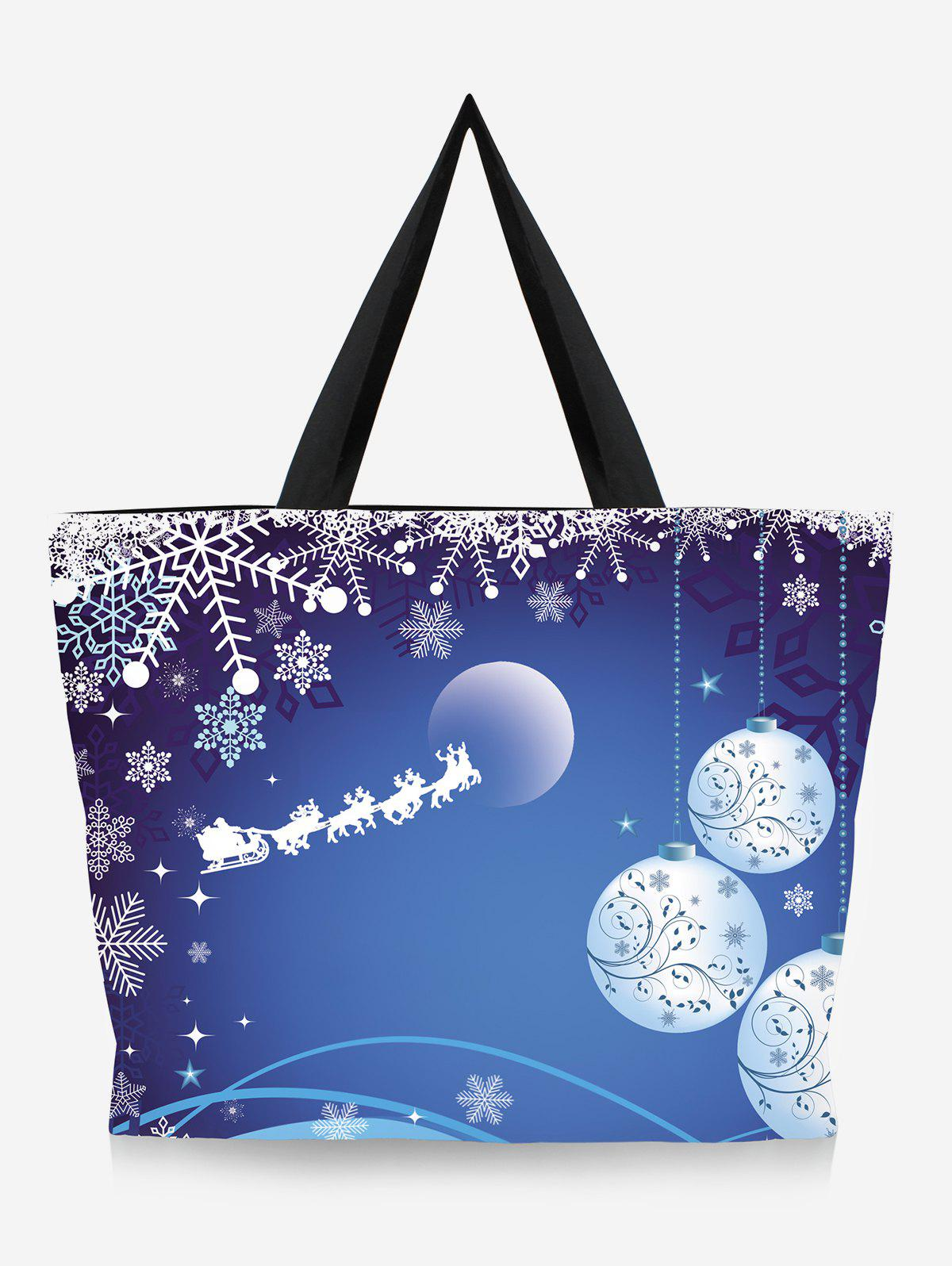 Discount Going Out Tree Print Christmas Handbag