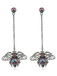 Hollow Insect Design Hanging Earrings -