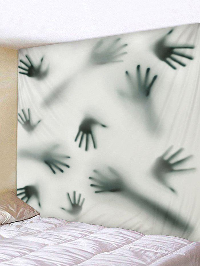 Chic Wall Hanging Art Halloween Hand Shadow Print Tapestry
