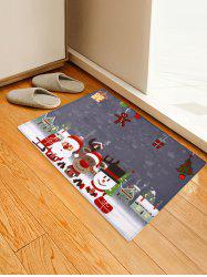 Christmas Decorations Printed Area Mat -