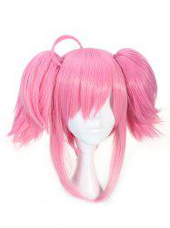 Short Double Ponytails Straight Game Character Lux Cosplay Synthetic Wig -
