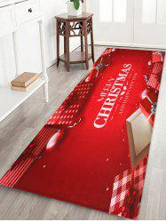 Merry Christmas Gift Printed Decorative Bath Mat -