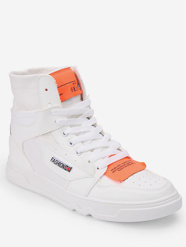 Online High Top Lace Up Skate Sneakers