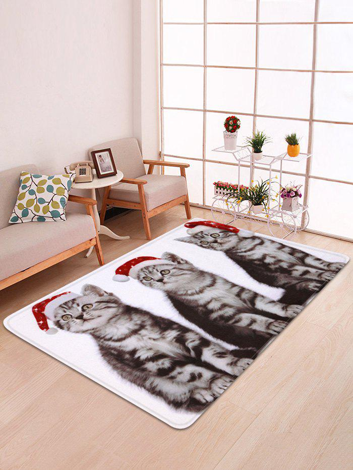 Best Christmas Cats Printed Antiskid Floor Mat