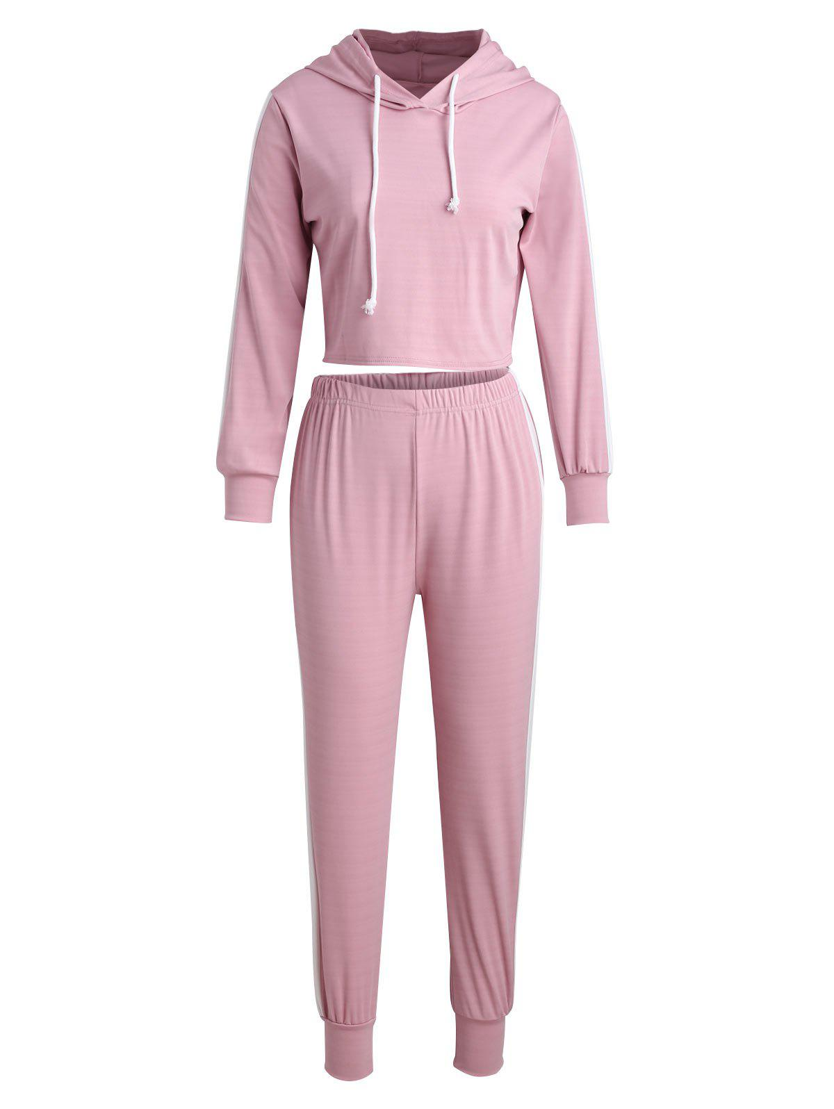 Outfit Sports Crop Hoodie and Pants