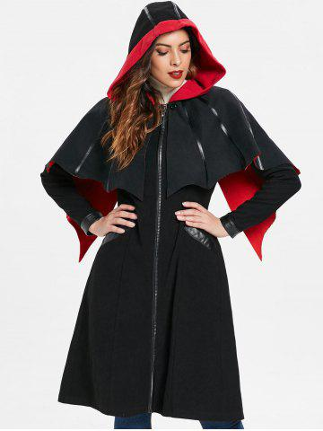 Zip Up Halloween Long Coat