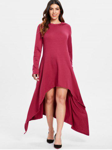 e083851073dc Casual Long Red Dress - Free Shipping, Discount And Cheap Sale   Rosegal