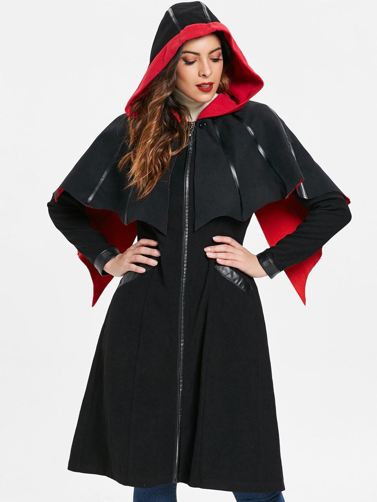 Shop Zip Up Halloween Long Coat