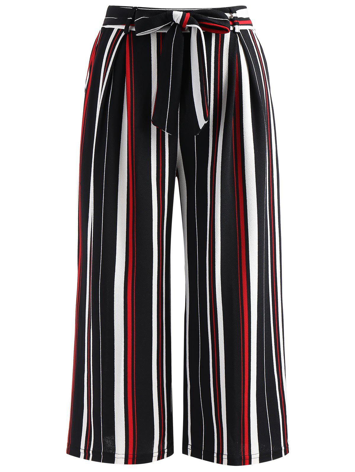 Outfits Striped Print Palazzo Pants
