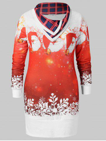 Christmas Plus Size Graphic Sweatshirt