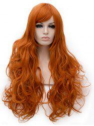 Long Side Bang Loose Wave Party Synthetic Wig -
