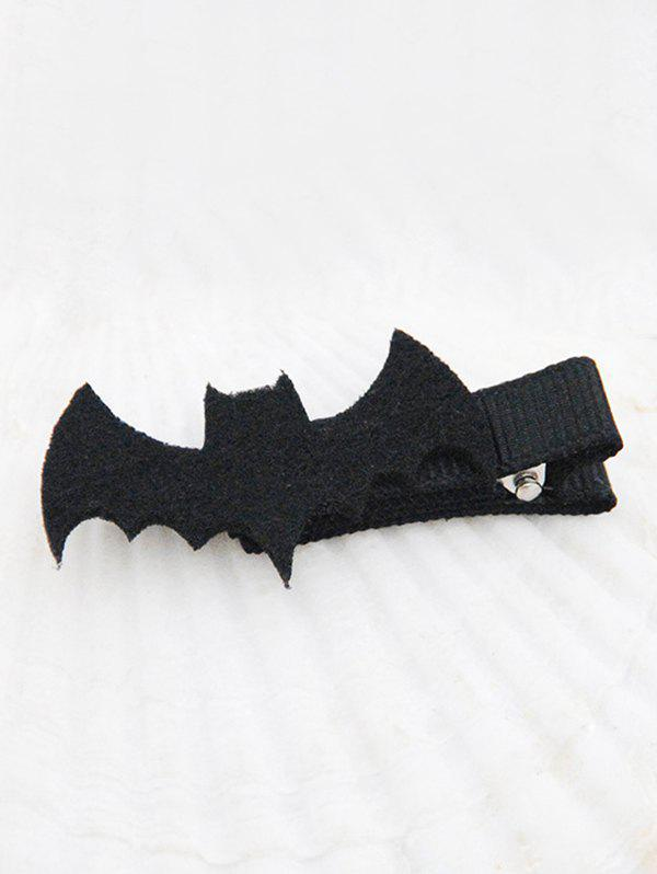 Online Halloween Bat Mini Hairpin
