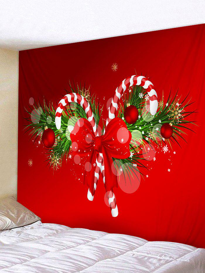 buy christmas candy cane print wall tapestry art decoration - Christmas Candy Cane Decorations