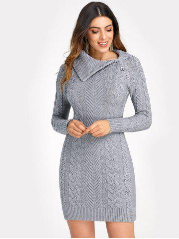 Cable Knit Dress Free Shipping Discount And Cheap Sale Rosegal