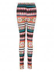 High Waisted Printed Leggings -