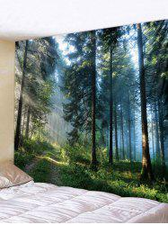 3D Forest Print Tapestry Art Decoration -