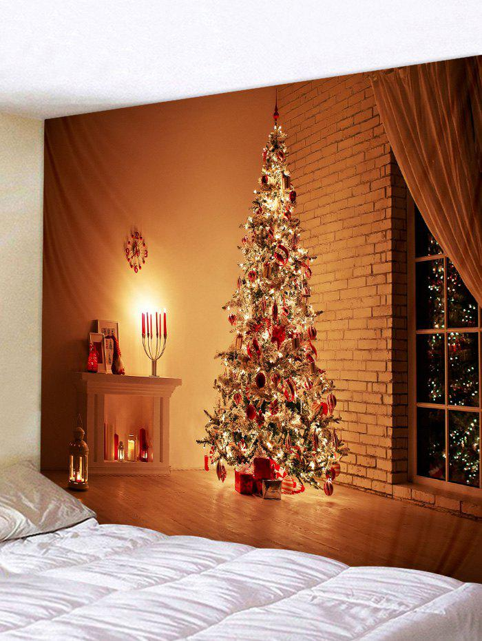 Fancy 3D Christmas Tree Print Tapestry Art Decoration